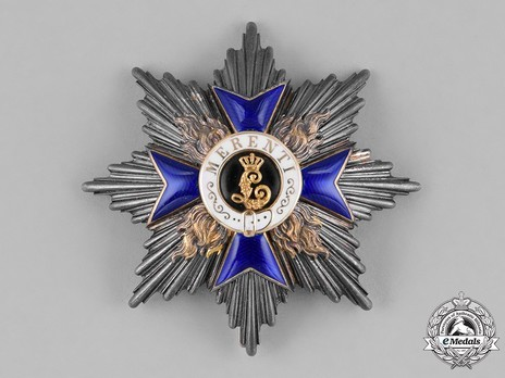 Order of Military Merit, II Class Cross Breast Star Obverse