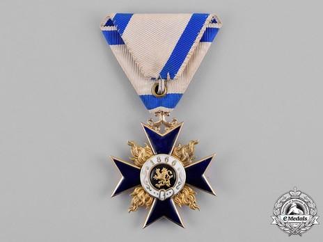 Order of Military Merit, Civil Division, I Class Knight's Cross Reverse
