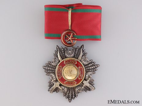 Order of Medjidjie, Military Division, III Class Obverse