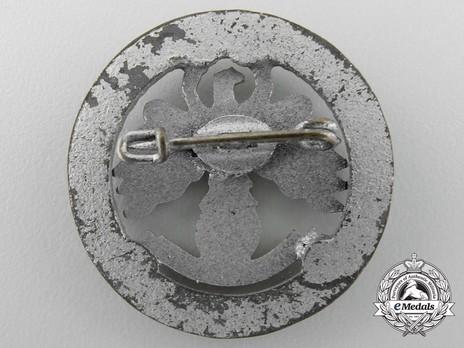 Tyrolean Marksmanship 6 Years of Gau Champion Shooter Badge (small version) Reverse