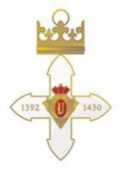 Order of Vytautas the Great, Commander's Cross Reverse