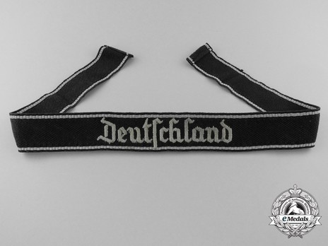 SS Deutschland NCO/EM Cuff Title Obverse