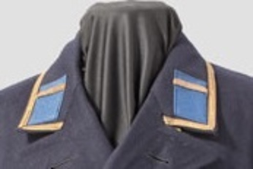 Kriegsmarine Maat Blue Uniform Collar Tabs Obverse