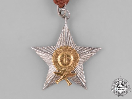 Order of the Gorkha Dakshina Bahu, IV Class Obverse