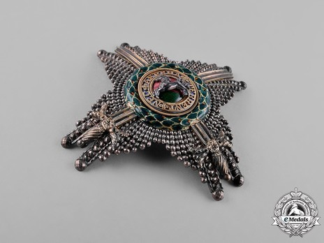 Commander Breast Star with Swords (in silver and gold) Obverse