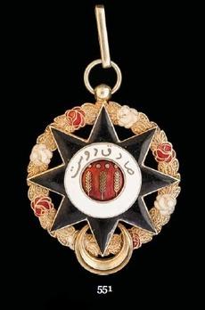 Order of Abassia (Imtiaz-i-Abbasia), II Class Grand Officer