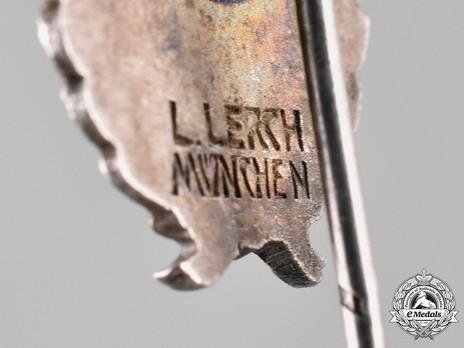 First War Luftfahrerverband Membership Stick Pin Reverse Detail
