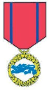 Rescue Service Cross, Gold Medal Obverse
