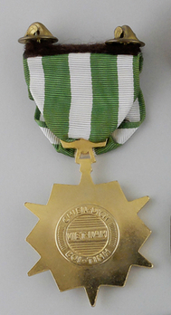 Vietnam Campaign Medal (Vietnam-made version) Reverse