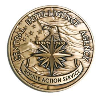 Hostile Action Service Medal Obverse