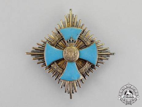Order of Faithful Service, Grand Cross Breast Star Obverse