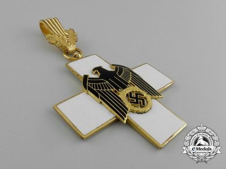 German Social Welfare Decoration, I Class Cross Reverse