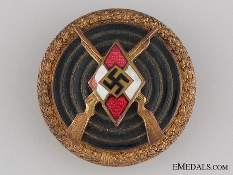 HJ Master Shooter Badge Obverse