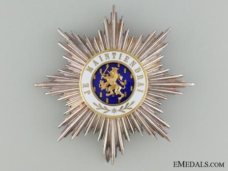 Order of Orange-Nassau, Civil Division, Grand Cross Breast Star