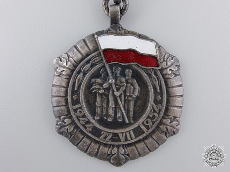 Medal for the 10th Anniversary of the Polish People's Republic Obverse