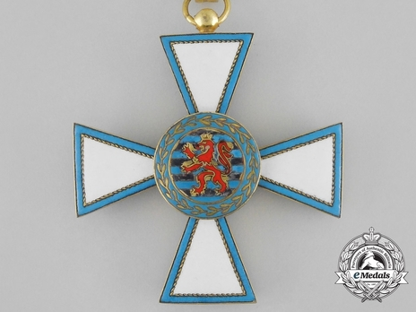Order of Merit of the Grand Duchy of Luxembourg, Grand Officer (in Silver gilt)