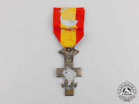 Silver Cross (white distinction) Reverse