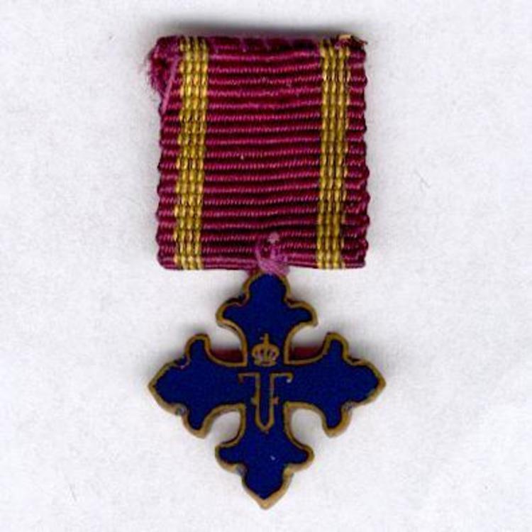 Miniature i class cross 1916 1