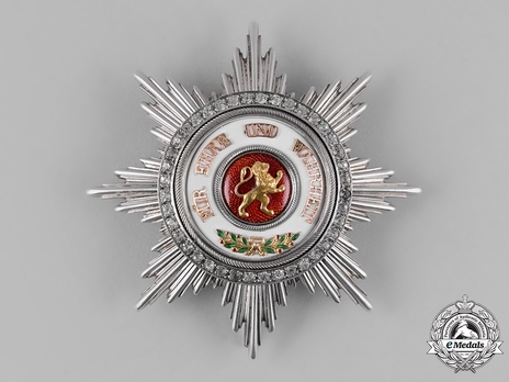 Order of the Zähringer Lion, Grand Cross Breast Star (with diamonds)