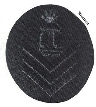 Kriegsmarine Gun Chief T Insignia Type I (over 6 years) Obverse
