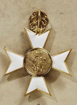 Order of Merit, Civil Division, I Class Cross (1871-1896)
