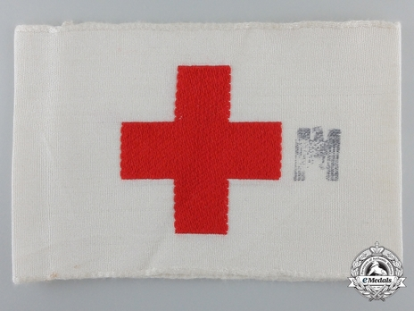 Kriegsmarine Medical Personnel Armband Obverse