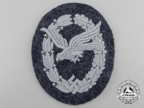Air Gunner & Flight Engineer Badge, in Cloth Obverse