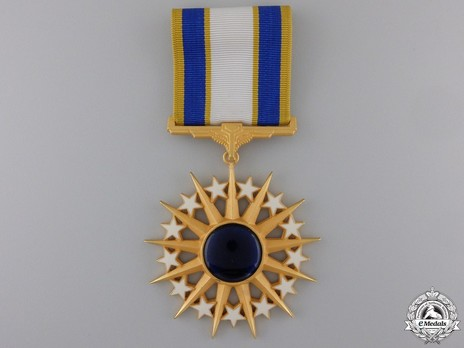 Air Force Distinguished Service Medal Obverse with Ribbon