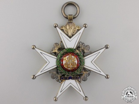 Grand Cross (with Silver-gilt and Gold) Reverse