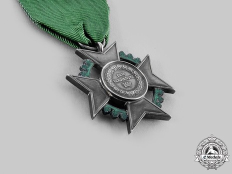"""Decoration for Art and Science, I Class Silver Cross (stamped """"HELFRICHT F."""" 1874-1889)"""