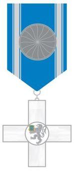 Order of Police Merit, II Class Cross Obverse