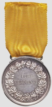 Silver Medal (1882-1908) Reverse