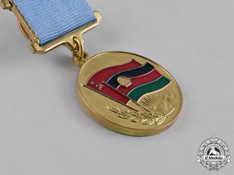 Medal from the Grateful Afghan People Reverse