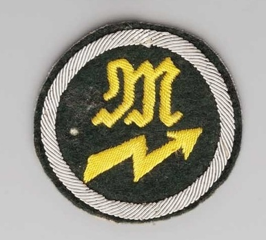 German Army Signals Mechanic Trade Insignia Obverse