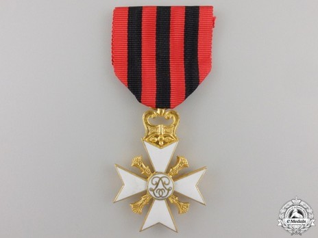 I Class Cross (for Long Service) Obverse