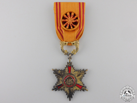 Order of Service Merit, IV Class Obverse