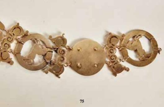 Order of the Crown of Westphalia, Collar (in enamelled)