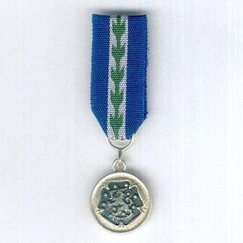 Miniature Reserve Officers Association Medal of Merit, Silver Medal Obverse
