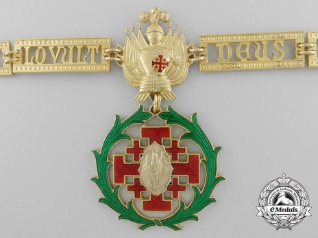 Equestrian Order of Merit of the Holy Sepulcher of Jerusalem (Type II) Collar Obverse Detail
