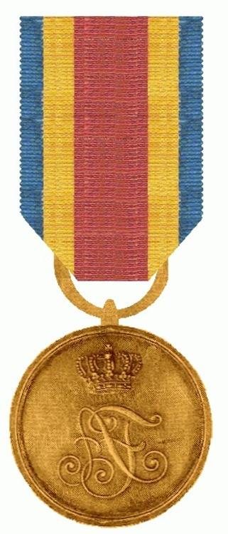 Bronzene verdienstmedaille mecklenburg strelitz 1904   1914