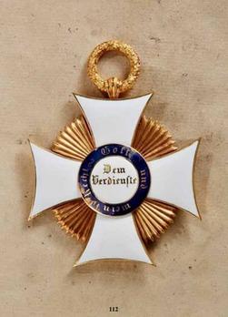 Friedrich Order, Type II, Civil Division, Grand Cross (in gold)