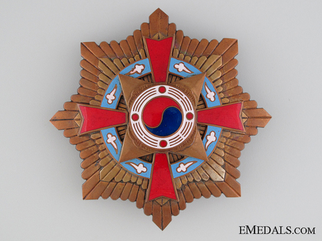 Order of Military Merit, Type I, I Class Breast Star Obverse