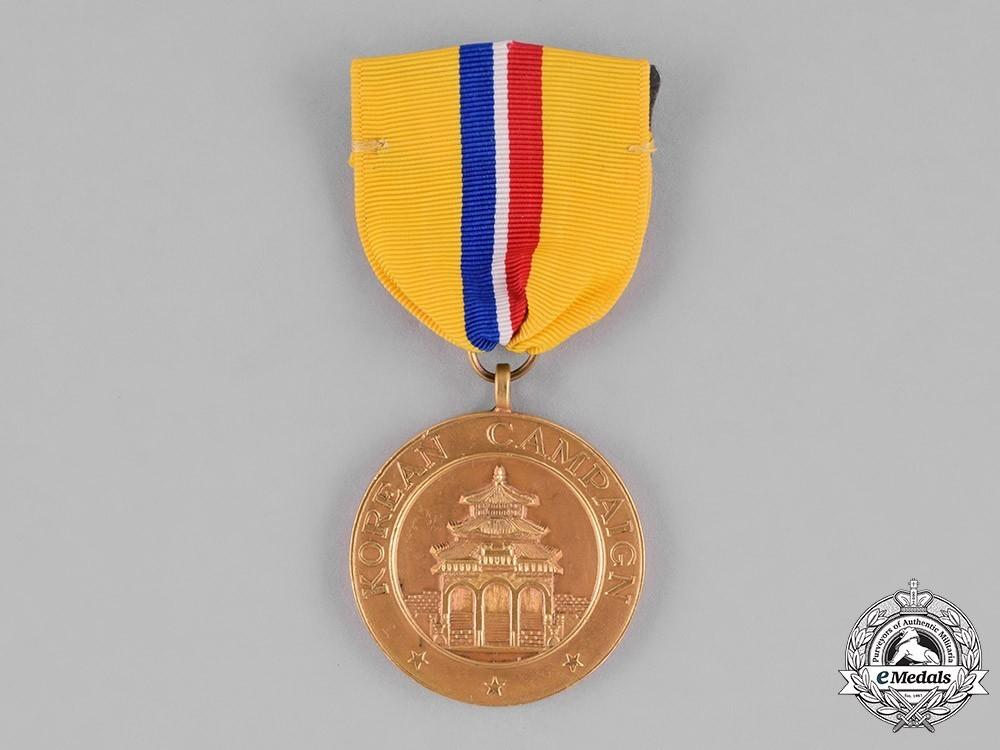 Korean+campaign+medal+1