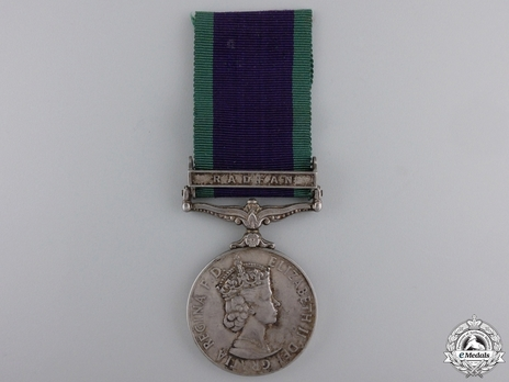 "Silver Medal (with ""RADFAN"" clasp) Obverse"
