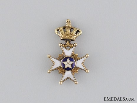 Miniature I Class Knight (with gold) Obverse