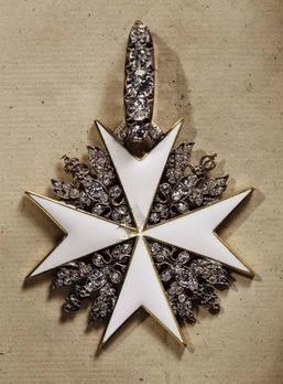 Order of St. John, Type II, Knight of Honour Cross (with diamonds)