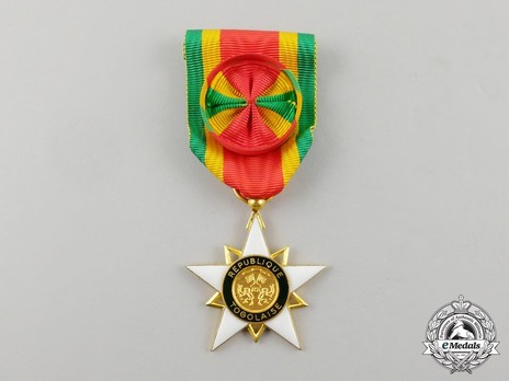 Order of Mono, Grand Officer Obverse