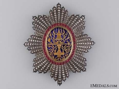 Royal Order of Cambodia, Grand Cross Breast Star Obverse