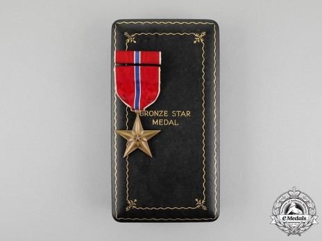 Bronze Star Case of Issue with Star