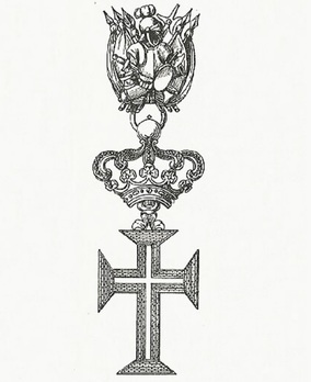 Supreme Order of Christ, Knight Cross Obverse
